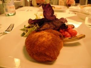 Veal escalope Milanese