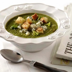 Broccoli & stilton soup