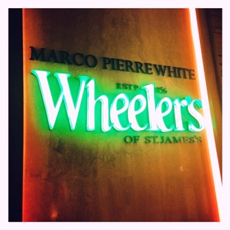 Wheeler's of St James...in Dubai