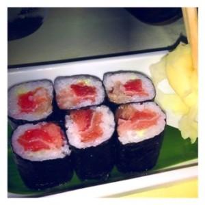 Fatty tuna maki