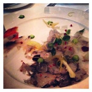 Obsibleu shrimp ceviche