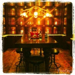 Maya's tequila library