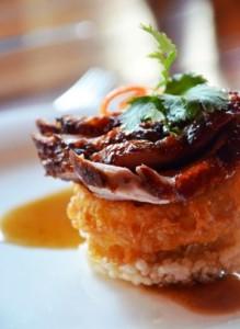 Barbeque duck - Thiptara - Taste of Dubai