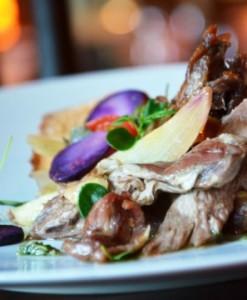 Baby Goat with Purple Potato - Asado - Taste of Dubai