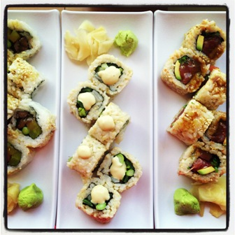 Make your own sushi maki