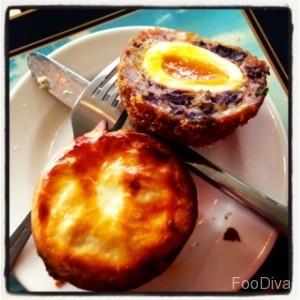 The Gun - black pudding scotch egg