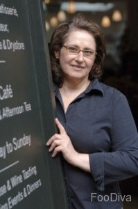 Patricia Michelson - owner of La Fromagerie