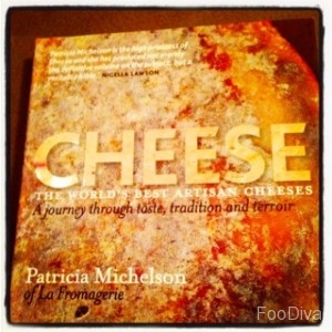 Patricia Michelson's cheese book