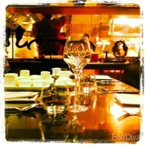 Thiptara chef's table at Palace Downtown