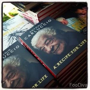 Antonio Carluccio's autobiography