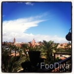 Rooftop view from Kosy bar - Marrakech