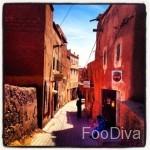 Ouarzazate alleyway