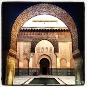 Medersa ben Youssef - an old children's school - Marrakech Medinah