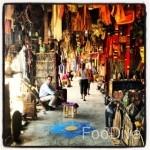 Ouarzazate market shopping