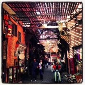 Marrakech Medinah shopping