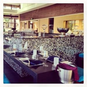 Moana seafood restaurant at Sofitel Palm