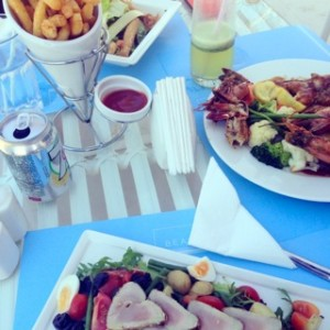 Lunch at The Beach House