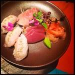Sashimi galore, tuna included