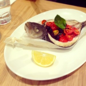 Branzino at Eataly Dubai