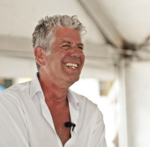 Anthony Bourdain at Cayman Cookout