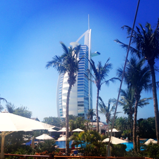Burj Al Arab view from D&A