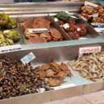 Crustaceans at Lisbon food market