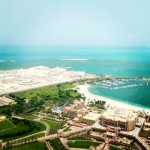 View from Observation Deck in Abu Dhabi