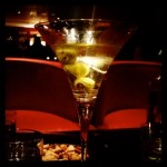 The Red Bar dirty martini