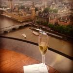 London Eye private pod
