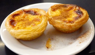Drool over these custard tarts