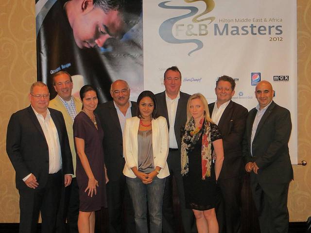 FooDiva judges Hilton Worldwide MEA F&B Masters