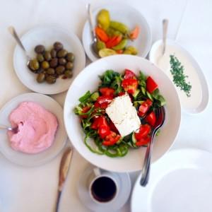 Village salad - Cyprus