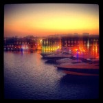 Yacht Club view of Limassol Marina