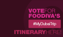If you love FooDiva, please vote for her #MyDubaiTrip itinerary
