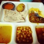 Evergreen Restaurant Abu Dhabi - dinner plate