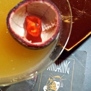 The Smoking Doll Abu Dhabi - Doll's Attraction Mocktail