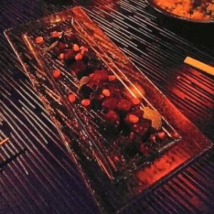 Wok-glazed beetroot