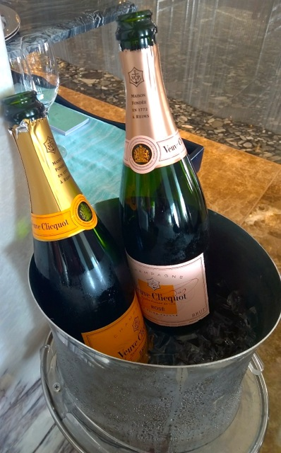 Veuve Cliquot galore - Brunch in Abu Dhabi