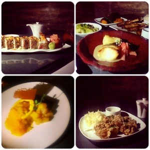 Zeta at The Address Downtown Dubai - food