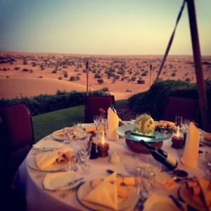 Al Maha Desert Resort pop-up