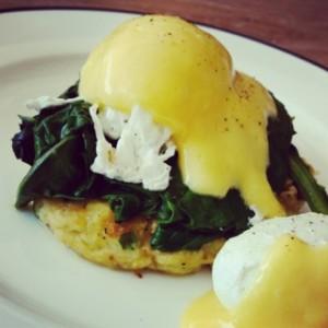 Eggs Florentine - No 57 Cafe