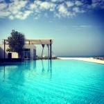 Nurai Island infinity pool - Abu Dhabi hotels