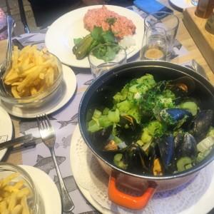 Moules et frites - Brussels