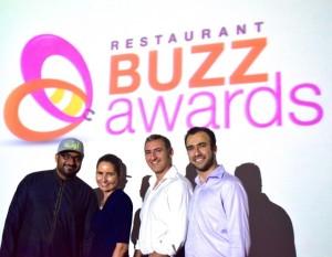 #RestaurantBuzzAwards team