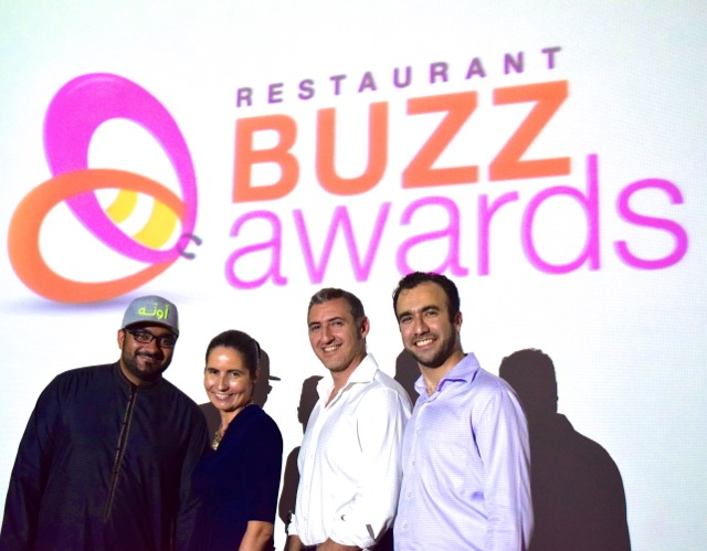 #RestaurantBuzzAwards team