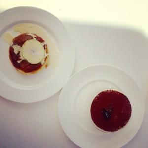 Cove Beach Dubai desserts