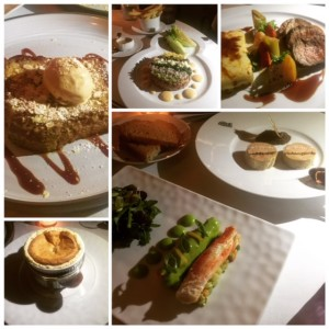 La r sidence french haute cuisine or posh brasserie - French haute cuisine dishes ...