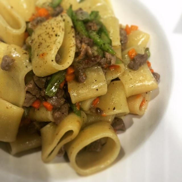 Taste of Italy - paccheri pasta - Dubai restaurants
