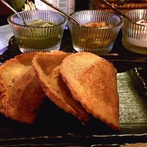 Fried meat pastries - Spirito Dubai