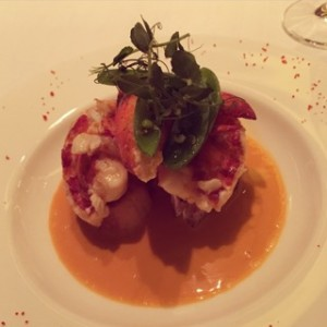 Lobster tartine